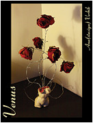 Roses Sculpture Metal Prints - Venus Metal Print by Anastasiya Verbik