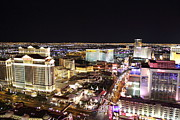 Flamingo Photos - View from Eiffel Tower in Las Vegas - 01132 by DC Photographer