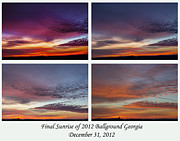 Canvas Photo Originals - 4 Views of Sunrise by Michael Waters
