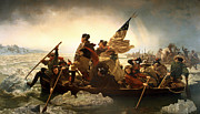 Emanuel Leutze - Washington Crossing the...