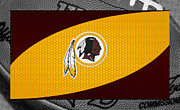 Football Photos - Washington Redskins by Joe Hamilton