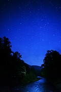 Williams Metal Prints - Williams River Summer Solstice Night Metal Print by Thomas R Fletcher