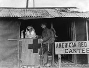 1918 Art - World War I: Red Cross by Granger
