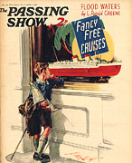 Boys Drawings Posters - 1930s,uk,the Passing Show,magazine Cover Poster by The Advertising Archives
