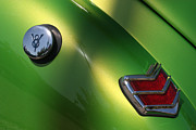 Stock Photo Digital Art - 40 Ford - Tank N Tail Light-8527 by Gary Gingrich Galleries