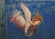 Night Angel Prints - Italy, Veneto, Padua, Scrovegni Chapel Print by Everett