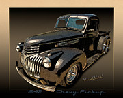 Chas Sinklier - 42 Chevy Pickup Rat Rod