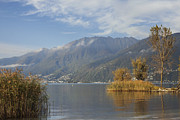 Panoramic Art - Lake Maggiore by Joana Kruse
