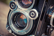 Aperture Photos - Old vintage camera by Sabino Parente