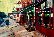 Philadelphia Painting Prints - 4225 Main St Manayunk - Philadelphia Print by Kevin J Cooper Artwork