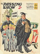 Uniforms Drawings Posters - 1930s,uk,the Passing Show,magazine Cover Poster by The Advertising Archives