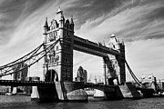 Tower Of London Photos - Tower Bridge London by David Pyatt