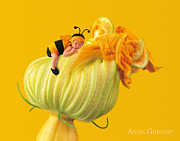 Bee Metal Prints - Untitled Metal Print by Anne Geddes