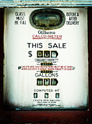 1970s Prints - 45 Cents per Gallon Print by Rebecca Sherman