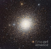 Deep Sky Posters - 47 Tucanae, A Globular Cluster Located Poster by Roberto Colombari
