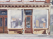 American City Scene Paintings - 471 West Broadway SoHo New York City by Anthony Butera