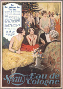 Fragrances Art - 4711 Eau De Cologne 1920s Uk by The Advertising Archives