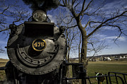 Amish Photographs Art - #475 Steam Engine on the Strasburg RR 04 by Mark Serfass