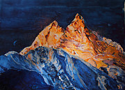 Himalaya Paintings - 48 by Manasi Sose