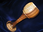 Elegant Sculptures - 481 - Wooden Goblet with Segmented Base by Jack Lewis