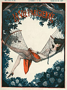Featured Art - La Vie Parisienne  1924 1920s France by The Advertising Archives