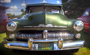 Chrome Framed Prints - 49 Mercury Classic Framed Print by Scott Norris