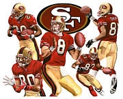49ers Originals - 49ers Attack by Joshua Jacobs