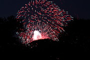 Amazing Framed Prints - 4th of July Fireworks - 011312 Framed Print by DC Photographer