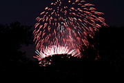 Stars Photo Framed Prints - 4th of July Fireworks - 011313 Framed Print by DC Photographer