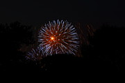 July Metal Prints - 4th of July Fireworks - 011314 Metal Print by DC Photographer