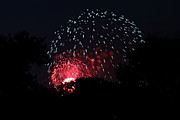 Amazing Metal Prints - 4th of July Fireworks - 011316 Metal Print by DC Photographer