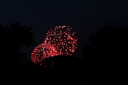 Explosion Metal Prints - 4th of July Fireworks - 011317 Metal Print by DC Photographer