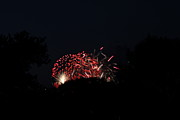 July Metal Prints - 4th of July Fireworks - 011318 Metal Print by DC Photographer