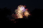 Burst Metal Prints - 4th of July Fireworks - 011320 Metal Print by DC Photographer