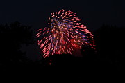 Amazing Metal Prints - 4th of July Fireworks - 011321 Metal Print by DC Photographer