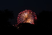 Colour Photo Framed Prints - 4th of July Fireworks - 011322 Framed Print by DC Photographer