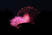 Burst Metal Prints - 4th of July Fireworks - 011325 Metal Print by DC Photographer