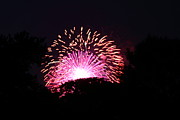 Amazing Photo Prints - 4th of July Fireworks - 011327 Print by DC Photographer