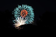 Evening Photo Metal Prints - 4th of July Fireworks - 011331 Metal Print by DC Photographer