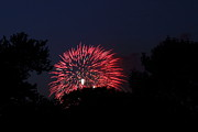 Independence Metal Prints - 4th of July Fireworks - 01136 Metal Print by DC Photographer