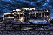 Greasy Spoon Prints - 4th Street Diner Print by Andrew Pacheco