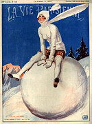 Parisienne Posters - 1920s France La Vie Parisienne Magazine Poster by The Advertising Archives