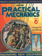 1930s Drawings Prints - 1930s Uk Practical Mechanics Magazine Print by The Advertising Archives