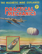 Mechanics Prints - 1940s Uk Practical Mechanics Magazine Print by The Advertising Archives