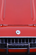 1957 Corvette Photos - 1957 Chevrolet Corvette Grille by Jill Reger