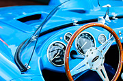 1959 Devin Ss Steering Wheel Print by Jill Reger