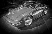 Expensive Photos - 1984 Porsche 911 Carrera Cabriolet Slant Nose BW by Rich Franco