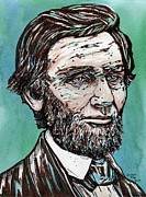 President Lincoln Drawings - Abraham Lincoln by Joseph York