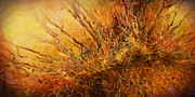 Vegetation Paintings - abstract Design by Michael Lang