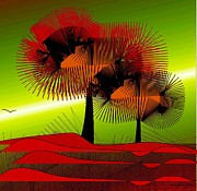 Autumn Colours Print by Iris Gelbart
